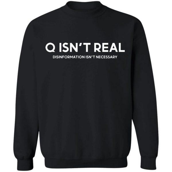 Q Isn't Real Disinformation Isn't Necessary T-Shirts, Hoodies, Sweatshirt Apparel 13