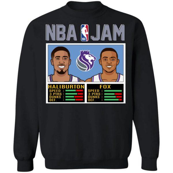 NBA Jam New Kings Haliburton Fox T-Shirts, Hoodies, Sweatshirt Apparel 13