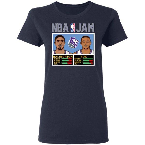 NBA Jam New Kings Haliburton Fox T-Shirts, Hoodies, Sweatshirt Apparel 8