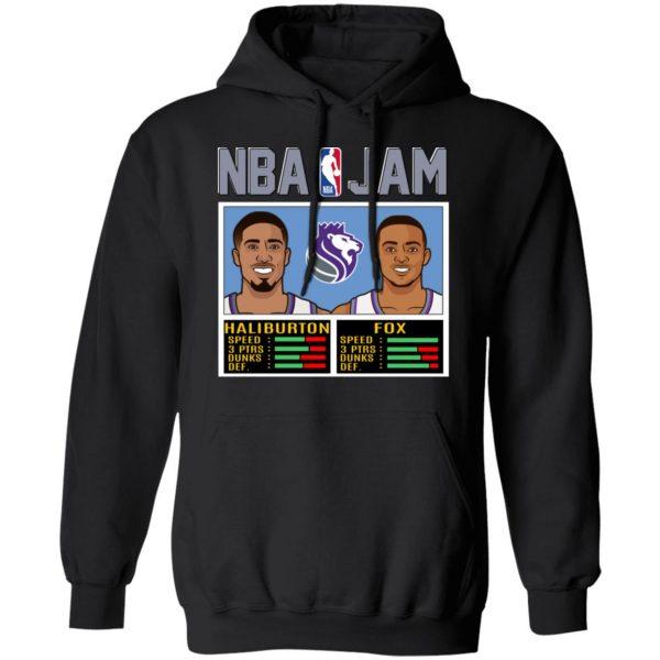 NBA Jam New Kings Haliburton Fox T-Shirts, Hoodies, Sweatshirt Apparel 9