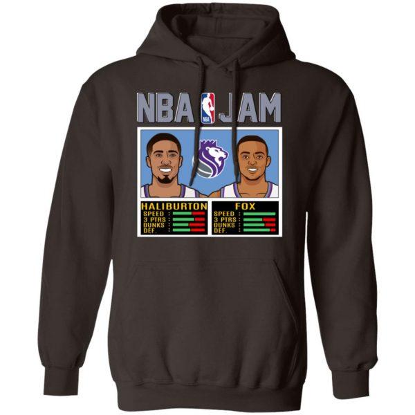 NBA Jam New Kings Haliburton Fox T-Shirts, Hoodies, Sweatshirt Apparel 11