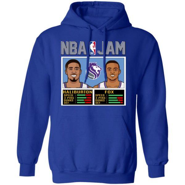 NBA Jam New Kings Haliburton Fox T-Shirts, Hoodies, Sweatshirt Apparel 12
