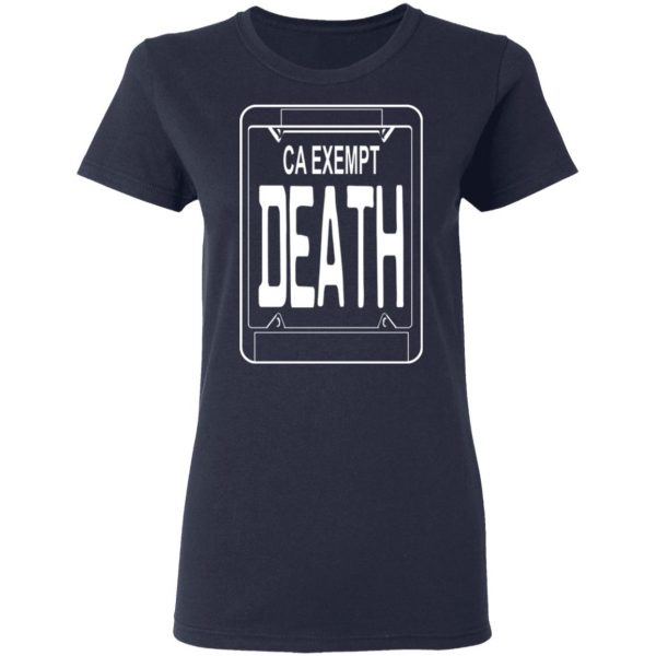 Government Plates By Death Grips Ca Exempt Death T-Shirts, Hoodies, Sweatshirt Apparel 8