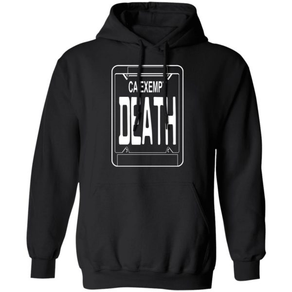 Government Plates By Death Grips Ca Exempt Death T-Shirts, Hoodies, Sweatshirt Apparel 9