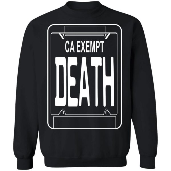 Government Plates By Death Grips Ca Exempt Death T-Shirts, Hoodies, Sweatshirt Apparel 13