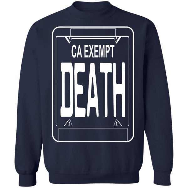 Government Plates By Death Grips Ca Exempt Death T-Shirts, Hoodies, Sweatshirt Apparel 14