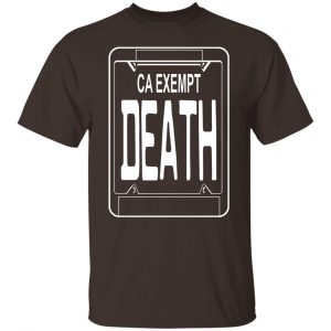 Government Plates By Death Grips Ca Exempt Death T-Shirts, Hoodies, Sweatshirt Apparel 2