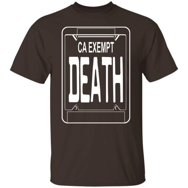 Government Plates By Death Grips Ca Exempt Death T-Shirts, Hoodies, Sweatshirt Apparel 4