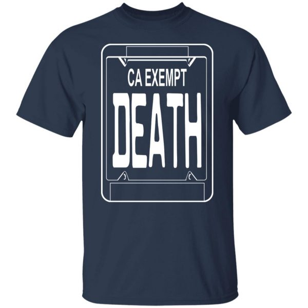 Government Plates By Death Grips Ca Exempt Death T-Shirts, Hoodies, Sweatshirt Apparel 5