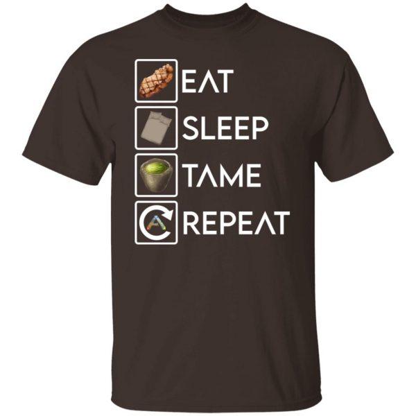 Eat Sleep Tame Repeat Ark Survival Evolved T-Shirts, Hoodies, Sweatshirt Apparel 4