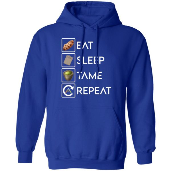 Eat Sleep Tame Repeat Ark Survival Evolved T-Shirts, Hoodies, Sweatshirt Apparel 12