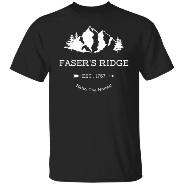 Faser's Ridge Est 1767 Hello The House T-Shirts, Hoodies, Sweatshirt Apparel 3