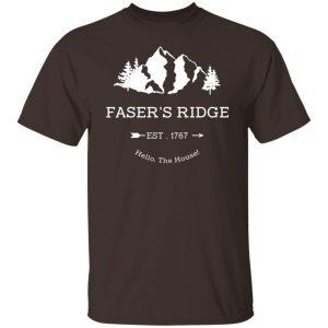 Faser's Ridge Est 1767 Hello The House T-Shirts, Hoodies, Sweatshirt Apparel 2