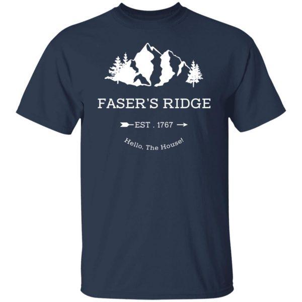 Faser's Ridge Est 1767 Hello The House T-Shirts, Hoodies, Sweatshirt Apparel 5