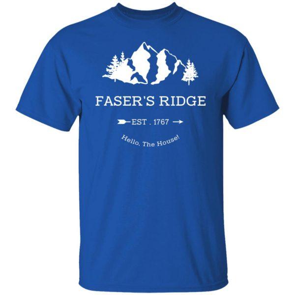 Faser's Ridge Est 1767 Hello The House T-Shirts, Hoodies, Sweatshirt Apparel 6