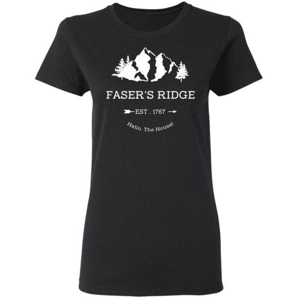 Faser's Ridge Est 1767 Hello The House T-Shirts, Hoodies, Sweatshirt Apparel 7
