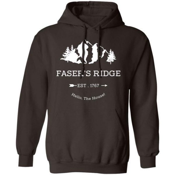 Faser's Ridge Est 1767 Hello The House T-Shirts, Hoodies, Sweatshirt Apparel 11