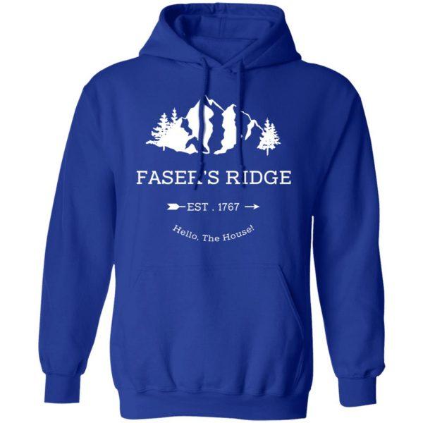 Faser's Ridge Est 1767 Hello The House T-Shirts, Hoodies, Sweatshirt Apparel 12