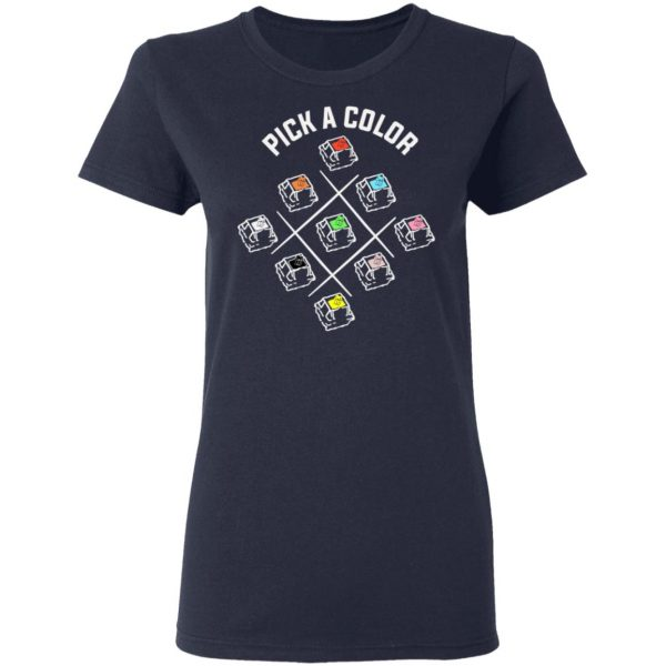 Pick A Color Mechanical Keyboard T-Shirts, Hoodies, Sweatshirt Apparel 7