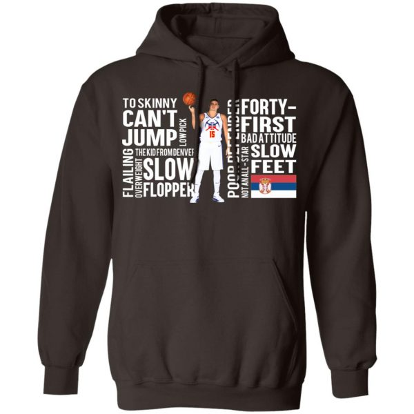 Too Skinny Can't Jump Low Pick The Kid From Denver T-Shirts, Hoodies, Sweatshirt Apparel 11