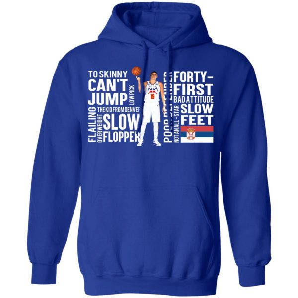 Too Skinny Can't Jump Low Pick The Kid From Denver T-Shirts, Hoodies, Sweatshirt Apparel 12