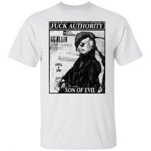 Fuck Authority Son Of Evil T-Shirts, Hoodies, Sweatshirt Apparel 2