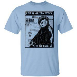 Fuck Authority Son Of Evil T-Shirts, Hoodies, Sweatshirt Apparel