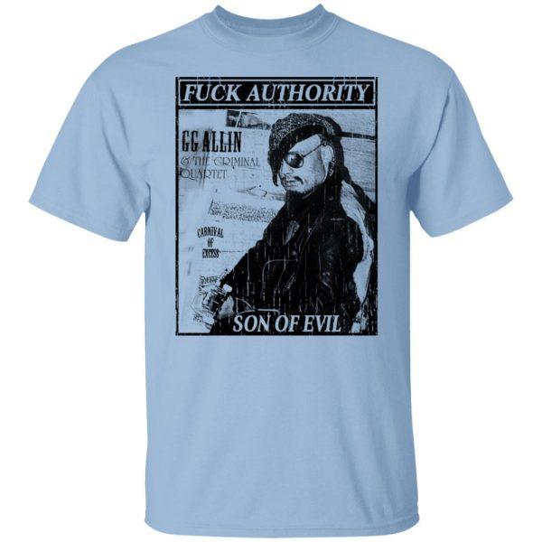 Fuck Authority Son Of Evil T-Shirts, Hoodies, Sweatshirt Apparel 3