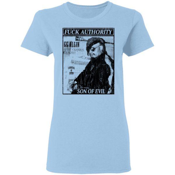 Fuck Authority Son Of Evil T-Shirts, Hoodies, Sweatshirt Apparel 6