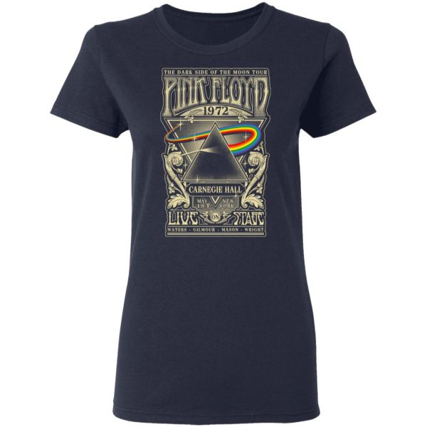 Pink Floyd 1972 The Dark Side Of The Moon Tour T-Shirts, Hoodies, Sweater Apparel 8
