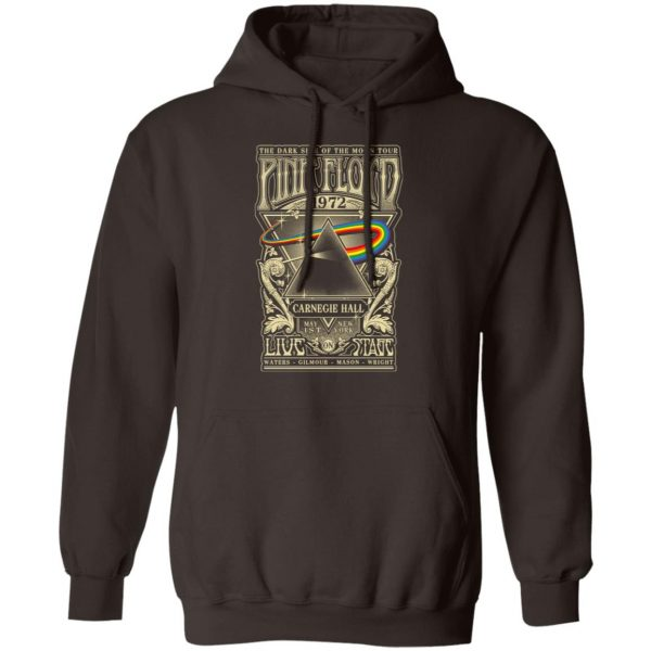 Pink Floyd 1972 The Dark Side Of The Moon Tour T-Shirts, Hoodies, Sweater Apparel 10