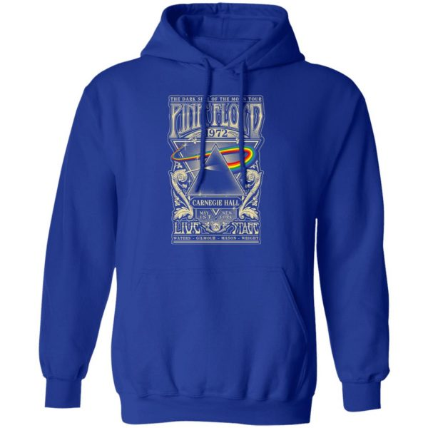Pink Floyd 1972 The Dark Side Of The Moon Tour T-Shirts, Hoodies, Sweater Apparel 11