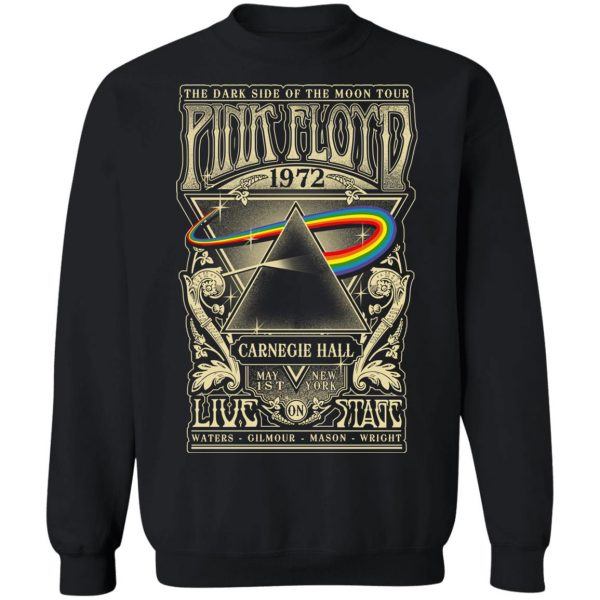 Pink Floyd 1972 The Dark Side Of The Moon Tour T-Shirts, Hoodies, Sweater Apparel 13