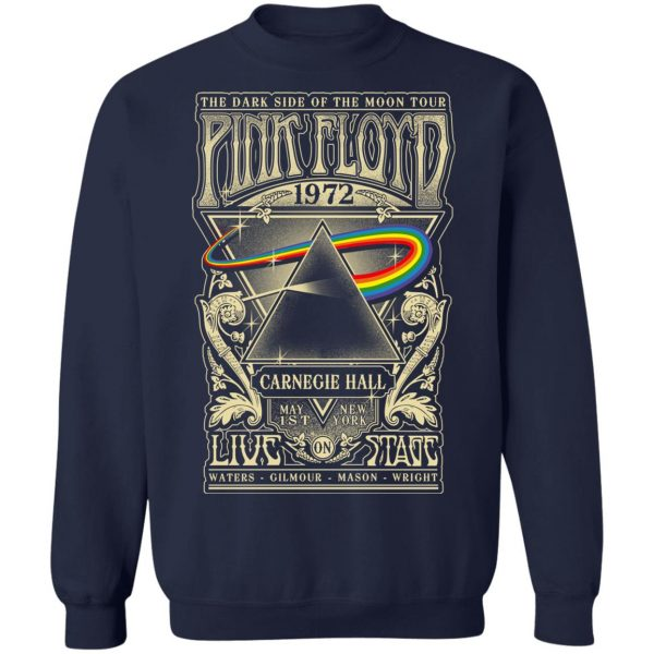 Pink Floyd 1972 The Dark Side Of The Moon Tour T-Shirts, Hoodies, Sweater Apparel 14