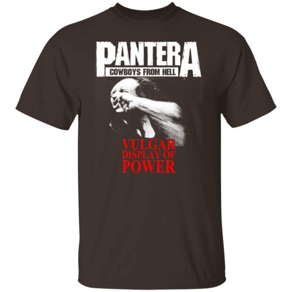 Pantera Cowboys From Hell Vulgar Display Of Power T-Shirts, Hoodies, Sweater Apparel 6