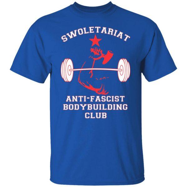 Swoletariat Anti-Fascist Bodybuilding Club T-Shirts, Hoodies, Sweater Apparel 6