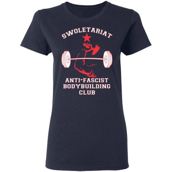 Swoletariat Anti-Fascist Bodybuilding Club T-Shirts, Hoodies, Sweater Apparel 8