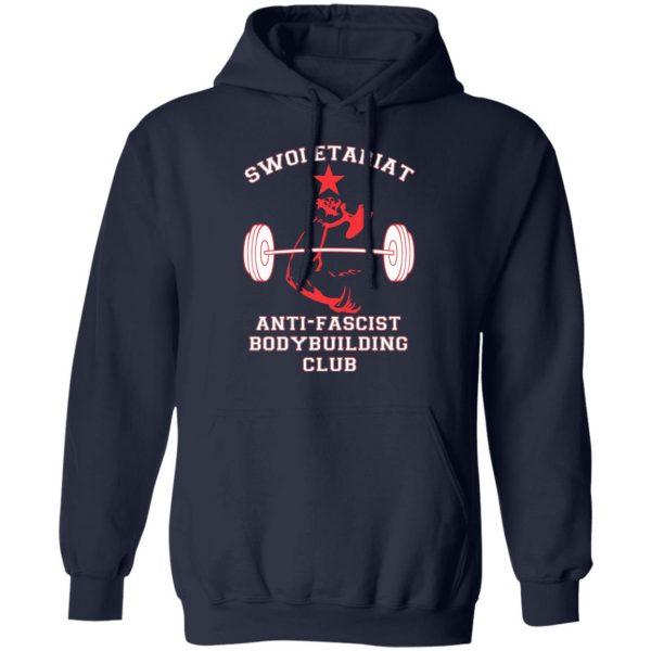 Swoletariat Anti-Fascist Bodybuilding Club T-Shirts, Hoodies, Sweater Apparel 10