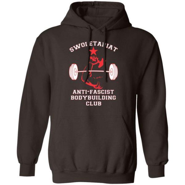 Swoletariat Anti-Fascist Bodybuilding Club T-Shirts, Hoodies, Sweater Apparel 11