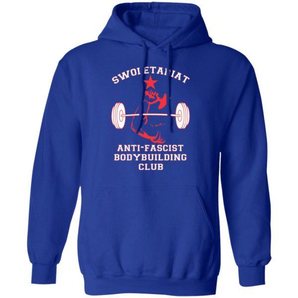 Swoletariat Anti-Fascist Bodybuilding Club T-Shirts, Hoodies, Sweater Apparel 12