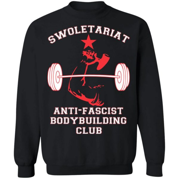Swoletariat Anti-Fascist Bodybuilding Club T-Shirts, Hoodies, Sweater Apparel 13