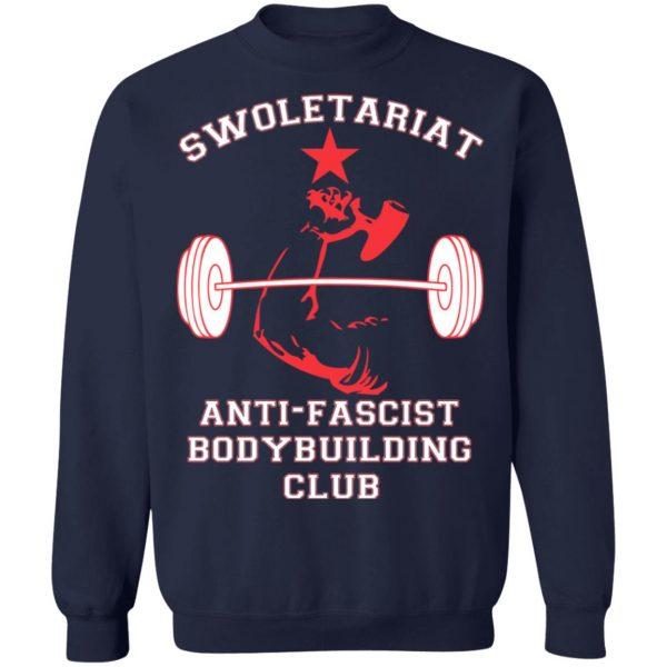 Swoletariat Anti-Fascist Bodybuilding Club T-Shirts, Hoodies, Sweater Apparel 14