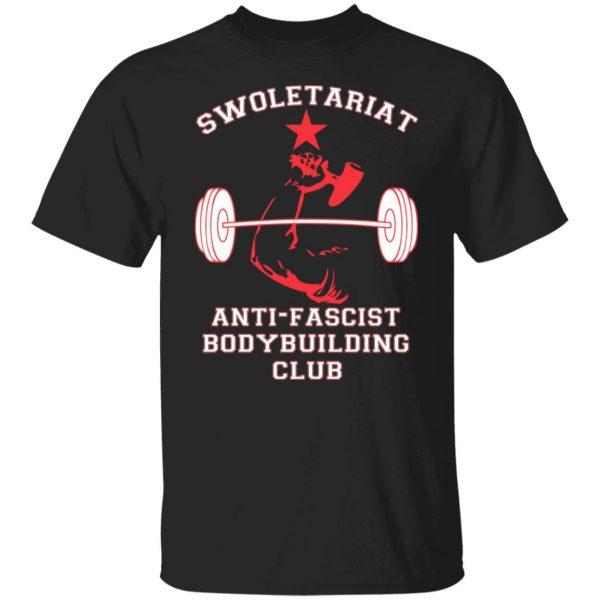 Swoletariat Anti-Fascist Bodybuilding Club T-Shirts, Hoodies, Sweater Apparel 3