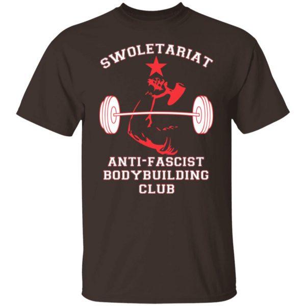 Swoletariat Anti-Fascist Bodybuilding Club T-Shirts, Hoodies, Sweater Apparel 4