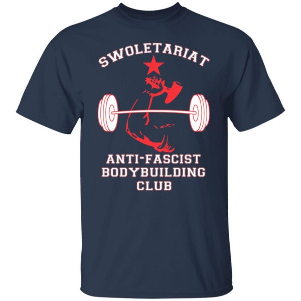 Swoletariat Anti-Fascist Bodybuilding Club T-Shirts, Hoodies, Sweater Apparel 5