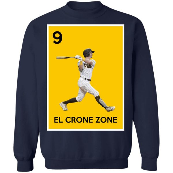 9 El Crone Zone Mark DeRosa NBA T-Shirts, Hoodies, Sweater Apparel 14