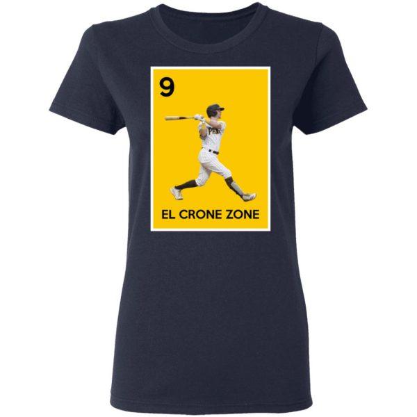 9 El Crone Zone Mark DeRosa NBA T-Shirts, Hoodies, Sweater Apparel 8