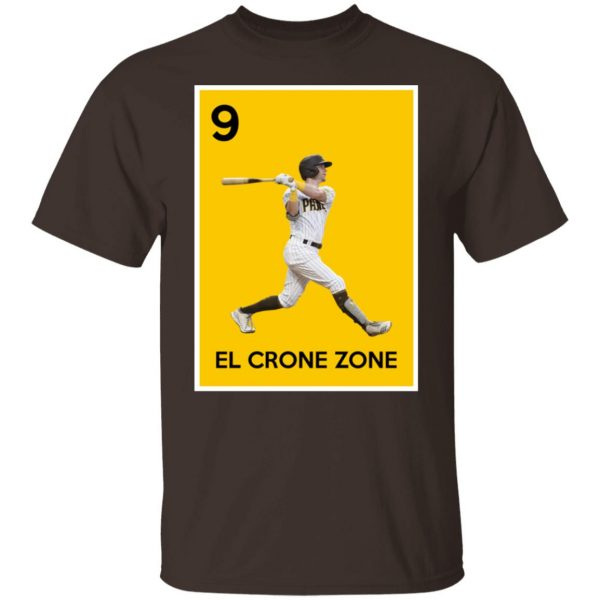 9 El Crone Zone Mark DeRosa NBA T-Shirts, Hoodies, Sweater Apparel 4