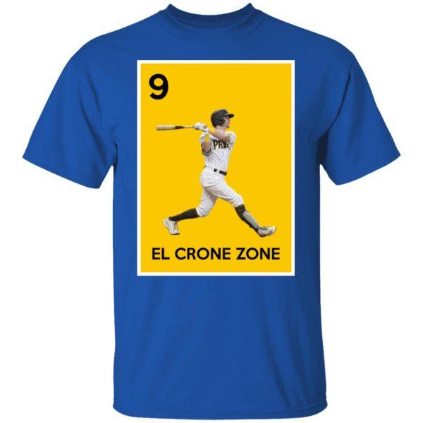 9 El Crone Zone Mark DeRosa NBA T-Shirts, Hoodies, Sweater Apparel 6