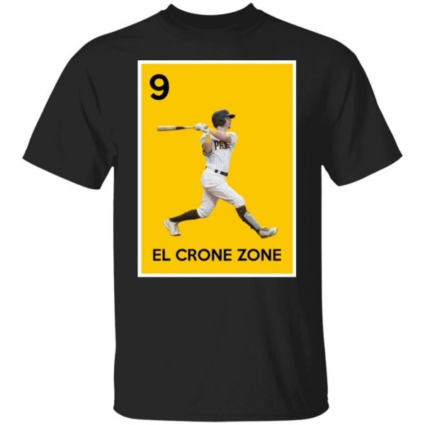 9 El Crone Zone Mark DeRosa NBA T-Shirts, Hoodies, Sweater Apparel 3